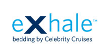 EXhale bedding by Celebrity Cruises